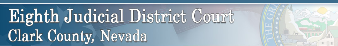 Eighth Judicial District Court Retina Logo